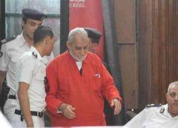 مصر تصدر حكما جديدا بحق المرشد العام لجماعة الاخوان المسلمين