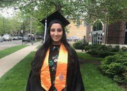 الفلسطينية دانية حمد ..أصغر محامية فلسطينية في الولايات المتحدة