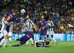 الساحر ميسي يقود برشلونة لاكتساح يوفينتوس والثأر منه