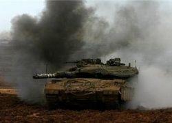 انفجار قنبلة بناقلة جند جنوب موقع كيسوفيم العسكري جنوب غزة