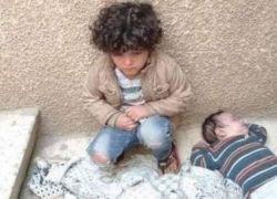 قصة فلسطيني وزوجته تركا طفليهما للجوع والبرد