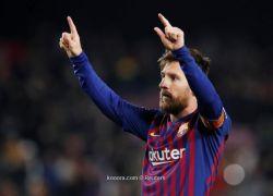 برشلونة يتغلب على ليغانيس بثلاثية ويواصل الصدارة