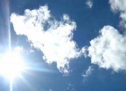 حالة الطقس : الحرارة اعلى من معدلها بقليل