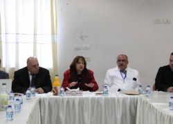 مختصون يبدأون اليوم تقييم مجمع فلسطين الطبي برام الله