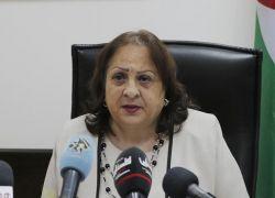 وزيرة الصحة تعلن تسطح المنحنى الوبائي في الضفة الغربية