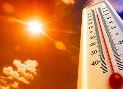 ارتفاع على درجات الحرارة