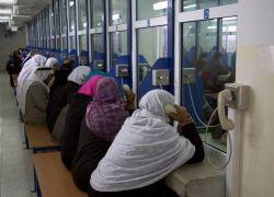 """43 من ذوي أسرى غزة يزورون ذويهم في سجن """"نفحة"""""""