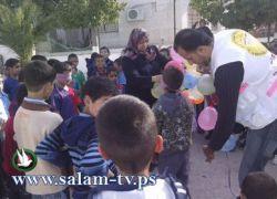 يوم ترفيهي لطلبة مدرسة الشهداء المختلطة في عنبتا شرق طولكرم