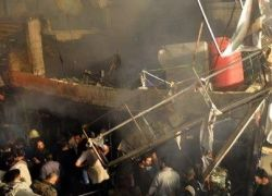 الجيش الحر يقصف القصر الجمهوري ومقر المخابرات