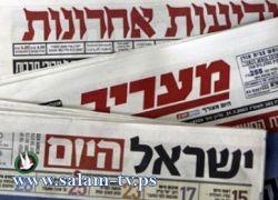 عناوين الصحف الاسرائيلية للأول من مارس 2012