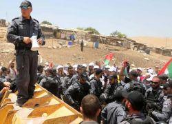 تحذيرات فلسطينية من قيام الاحتلال بتنفيذ مجزرة بالخان الاحمر
