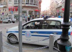 الشرطة تضبط مركبة تحمل لوحة أرقام مزوره في طولكرم