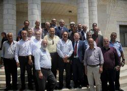 طولكرم : التوقيع على اتفاقية أذونات الصب والإشراف الإلزامي تحت رعاية المحافظ أبو بكر