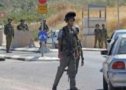 قوات الاحتلال تعتقل شابا من عنبتا على حاجز جنوب نابلس