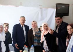 محافظ طولكرم عصام أبو بكر يؤكد على دور المرأة الفلسطينية ومكانتها النضالية
