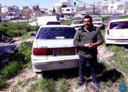 مواطن يسلم مركبته غير القانونية للشرطة في الخليل
