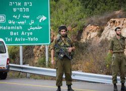 جيش الاحتلال يغلق طرق زراعية في قريتي المزرعة الغربية وام صفا برام الله