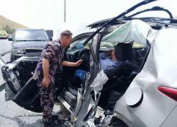 10 اصابات بحادث سير على وادي النار