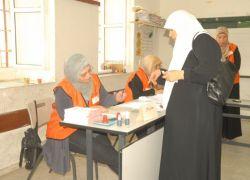 اعلى نسبة اقتراع في محافظة رام الله اما اقل نسبة اقتراع فكانت في نابلس - حتى منتصف اليوم