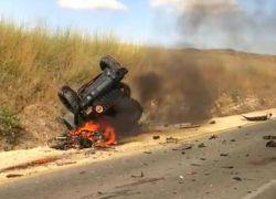 مصرع شابين جرّاء حادث طرق مروع بالقرب من كفرقرع