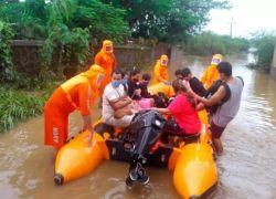 امطار غير مسبوقة تضرب الهند ... 115 قتيلا وإجلاء 150 ألف مواطن