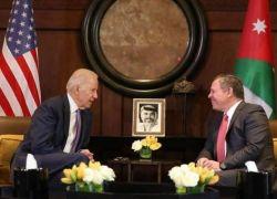 العاهل الأردني يؤكد في لقائه مع بايدن على حقوق الفلسطينيين المشروعة ووضع القدس القانوني