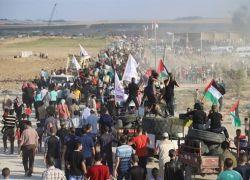 اصابة 4 مواطنين برصاص الاحتلال شرق غزة