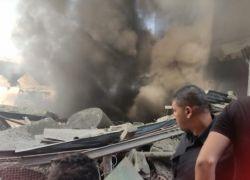 اصابات بانفجار محل توزيع غاز في غزة