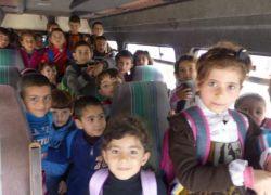 الشرطة تضبط حافلة روضة بداخلها 31 بدل 19 في نابلس !