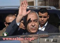 فياض يؤدي الجمعة بالحرم الابراهيمي والامطار لم تمنع الفلسطينيين من المشاركة