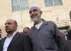 الاحتلال يعين موعد جلسة لتقديم لائحة اتهام بحق الشيخ رائد صلاح