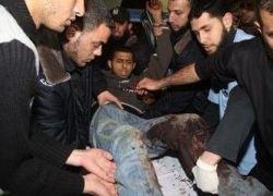 إصابة 4 مواطنين في قصف إسرائيلي وتوغل محدود شمال جباليا