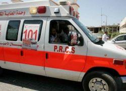 وفاة طفل في حادث سير في طوباس