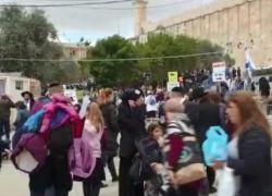 22 الف مستوطن يستبيحون الحرم الابراهيمي في الخليل