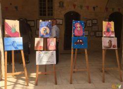 """معرض """"لوحات الفنان الصغير"""" في طولكرم .. فيديو"""
