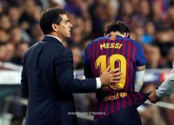 برشلونة يفتقد ميسي في 6 مباريات حاسمة