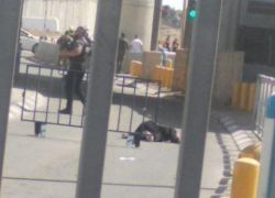 إطلاق النار على مواطنة فلسطينية قرب حاجز قلنديا