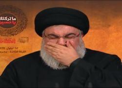 فيديو | حسن نصر الله يبكي وآفيخاي آدرعي يعلق!