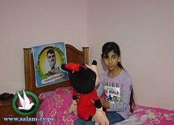 فقدت جميع عائلتها- جومانة تنتظر رؤية والدها الاسير لأول مرة بحياتها
