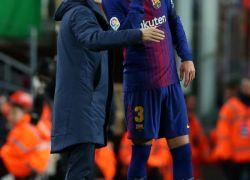 بيكيه ينقذ برشلونة من الهزيمة الأولى ويقوده إلى التعادل أمام اسبانيول