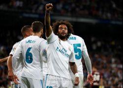 ريال مدريد يكتفي بثلاثية في مرمى إيبار