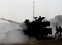 اصابة مواطن بقصف مدفعي اسرائيلي شرق البريج وسط القطاع