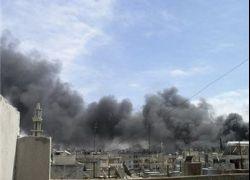 استشهاد قياديين من حركة حماس في مخيم درعا بسوريا