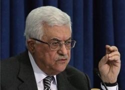 """الرئيس يقول ان اولمرت كان على مسافة """"شهرين"""" من التوصل لاتفاق سلام"""
