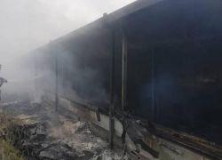 نفوق 20 ألف طير دجاج إثر حريق في بلدة عجة جنوب جنين