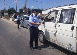 الشرطة حررت أكثر من 11400 مخالفة خلال 10 أيام فقط بالضفة الغربية