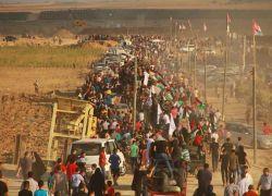 6 شهداء وعشرات الاصابات بنيران الاحتلال على حدود غزة