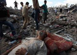 اكثر من 1000 شهيد - غزه تحت القصف وصواريخ المقاومة تصل حيفا وديمونه وتل ابيب