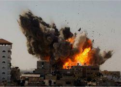 غزه تحت النار