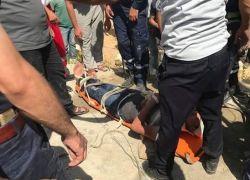الخليل - إصابة فتى سقط في بئر